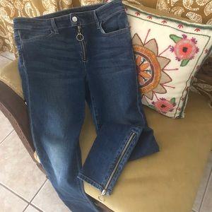 Unique zipper Joe's Jeans